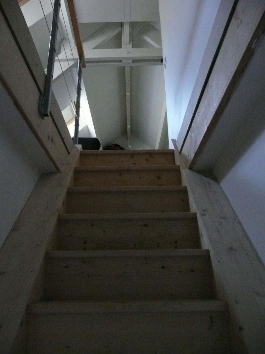 l`acces à l`étage